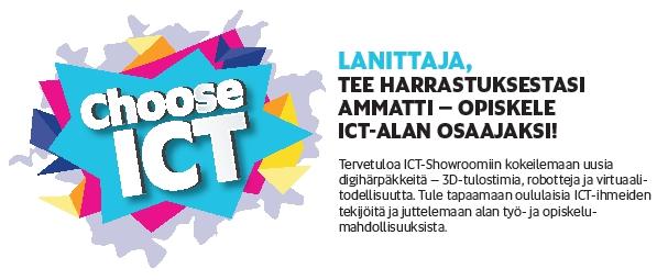 Choose ICT kannustaa ICT:hen Vectoramassa