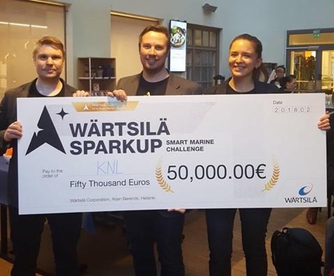 KNL Networks voitti Wärtsilän SparkUp Challenge -kilpailun