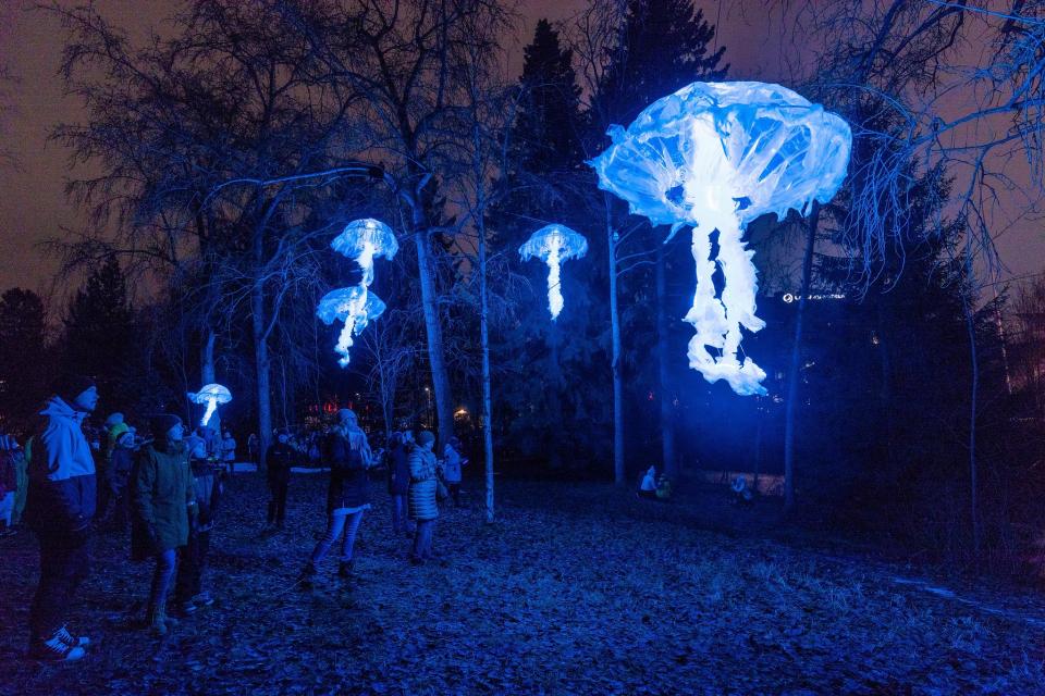 Lumo-valofestivaali valaisee kaupungin kotimaisin voimin
