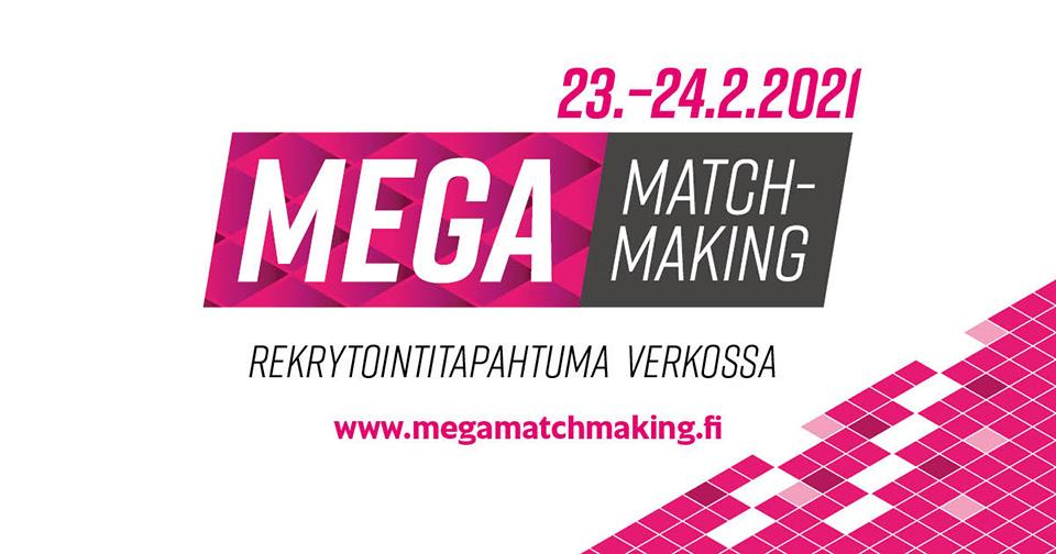 MegaMatchmakingissä rekrytoidaan verkossa 23.–24.2.