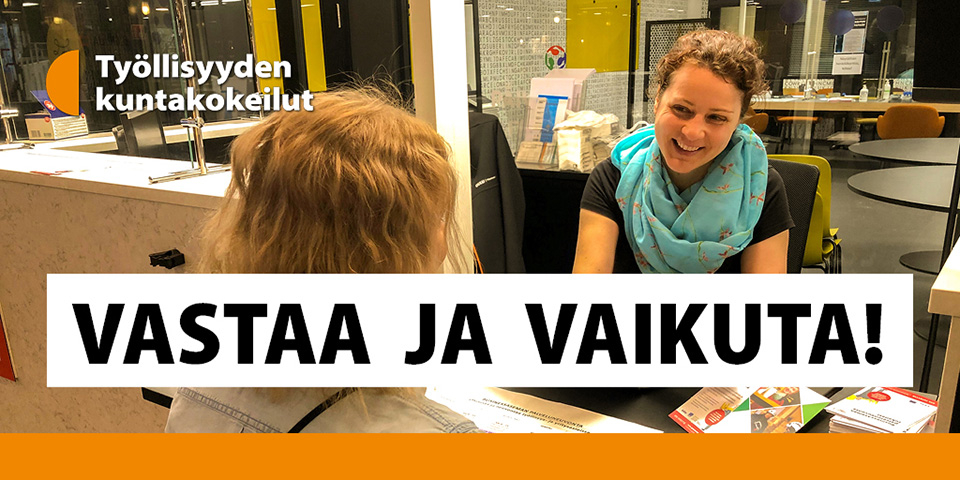 Oulun seudun kuntalaisilta kysytään työllisyyspalveluiden tarjoamisesta – vastaa verkkokyselyyn
