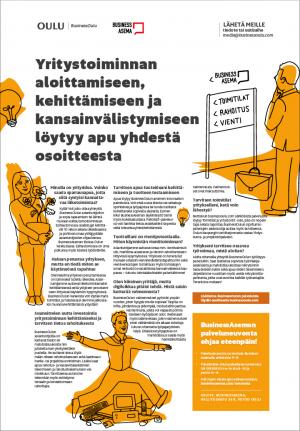 BusinessOulun lehtimainos