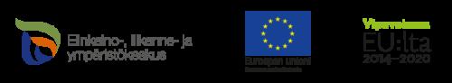 Elyn, EU:n ja Vipuvoiman logot