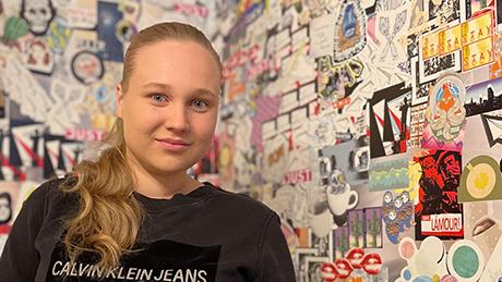 Greta Pöyskö BusinessAsemalla