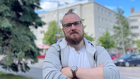 Miika Hautala kadulla