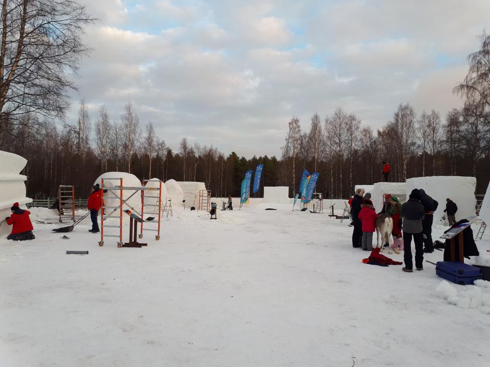 Nallikari Snow Fest käynnistyi – lumenveiston kulttuuricocktailia Oulun Nallikarissa