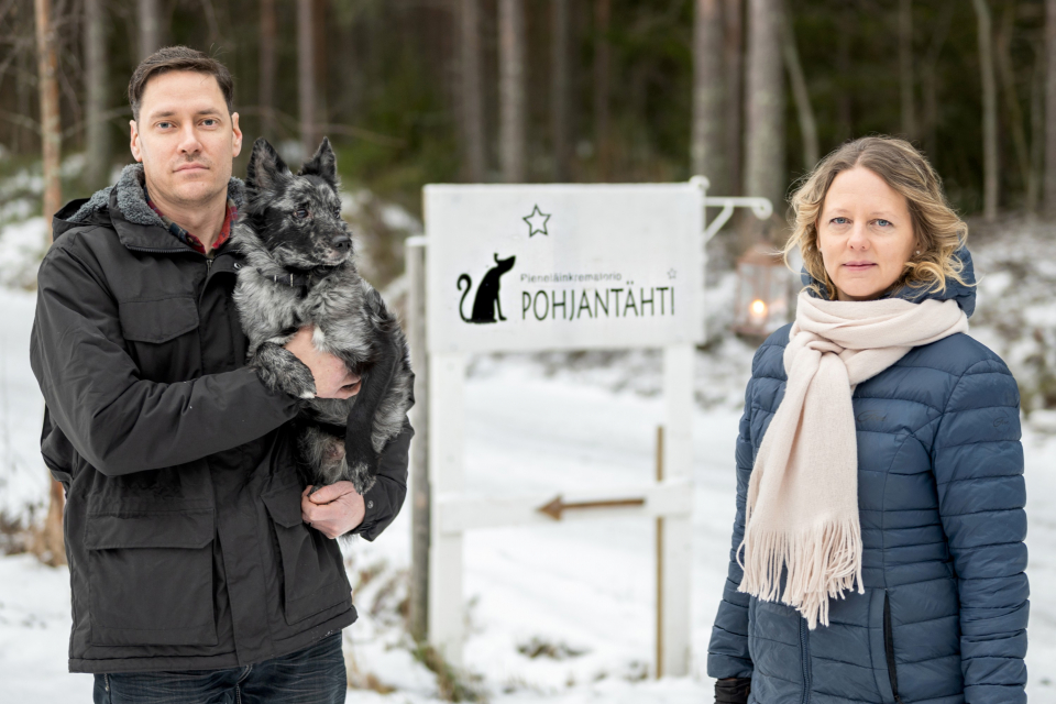 Brightplus ja Pieneläinkrematorio Pohjantähti kehittävät ympäristöystävällisiä uurnia lemmikeille