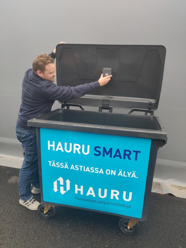 Osnakodit valitsi älykkään Hauru Smart -jätehuoltoratkaisun