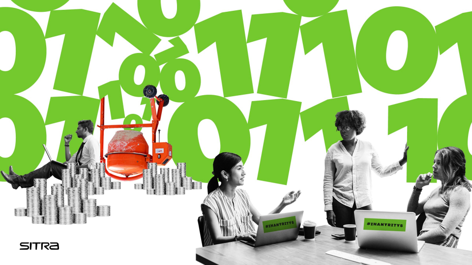 Sitran yritysohjelmassa pk-yritykset luovat datasta uutta liiketoimintaa