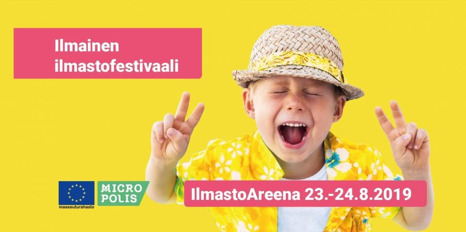 IlmastoAreena – Suomen merkittävin ilmastofestivaali Iissä