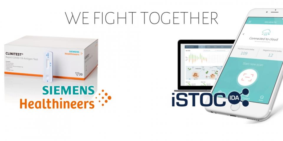 iSTOCin ja Siemens Healthineersin yhteistyöstä tehokkuutta koronatestaukseen Euroopassa