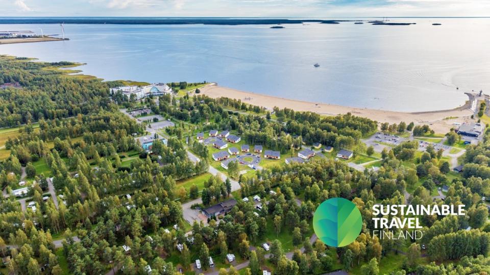 VisitOulu ja Oulun seutu mukaan kestävän matkailun kehittämisohjelmaan – Nallikari Lomakylälle Sustainable Travel Finland -merkki