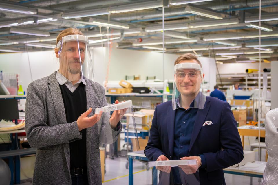 Hengityssuojainten valmistus Oulussa alkaa kesäkuussa